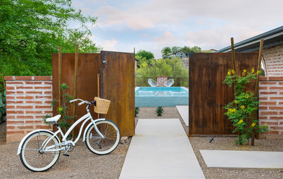 A Barren Backyard Becomes an Aquatic Oasis