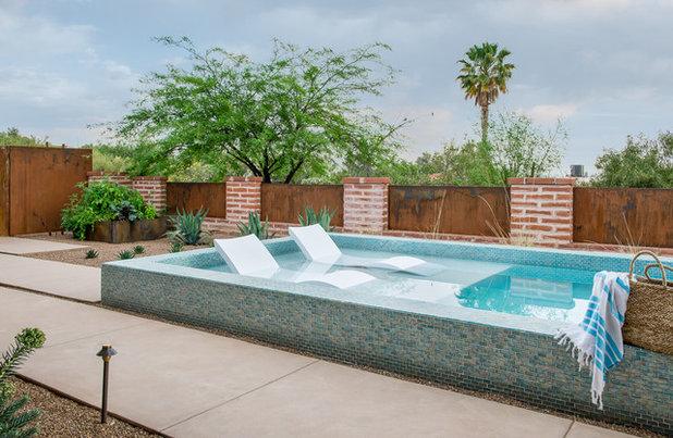 Southwestern Pool by Prideaux Design