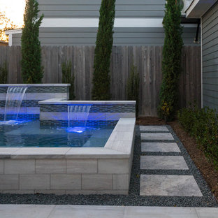 Small Pool/Spa and Landscape