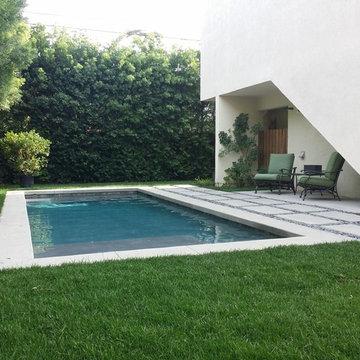 Small Yard Pool   West Hollywood