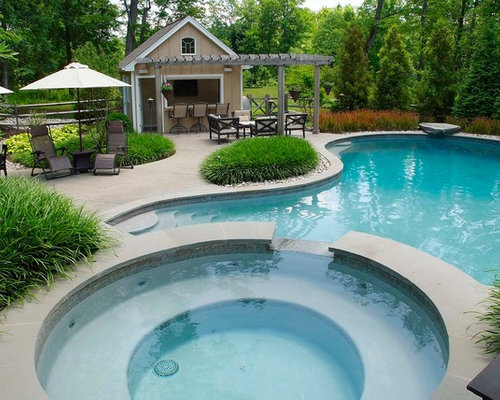 Pool Shed Houzz