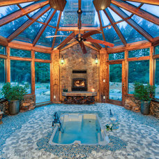 Traditional Pool by Treve Johnson Photography
