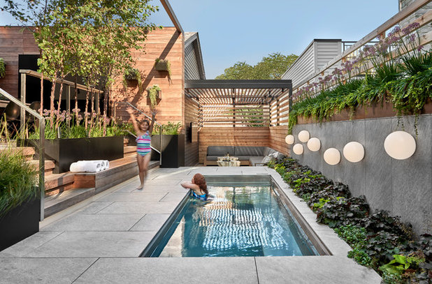 Contemporary Pool by dSPACE Studio Ltd, AIA