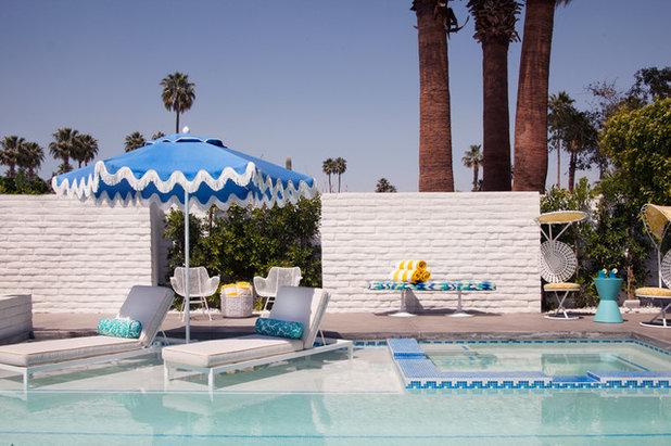 Midcentury Swimming Pool by Joel Dessaules Design