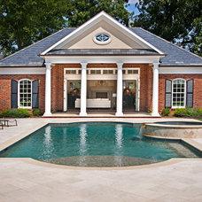 Traditional Pool by Arcadia Custom Homes & Renovations