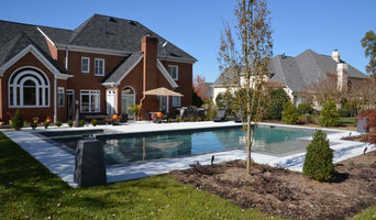 South Charlotte Custom Geometrical Pool and Spa