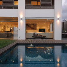 Contemporary Pool by Capital Building