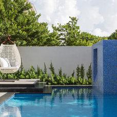 Modern Pool by jackie