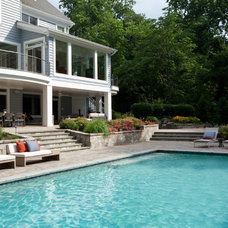 Traditional Pool by Michelle Miller Interiors