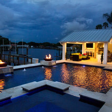 Transitional Pool by Grand Vista Pools