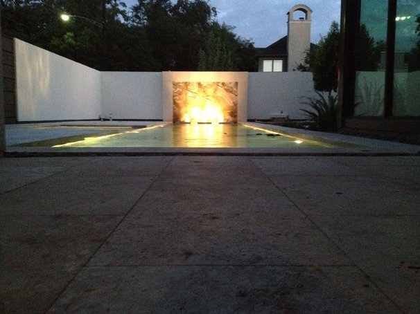Modern Pool by Lush Outdoor Living, Inc.