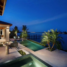 Tropical Pool by Windover Construction