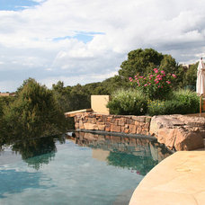 Mediterranean Pool by Clemens & Associates Inc.