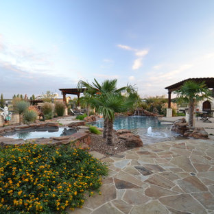 Southwestern Tropical Pool & Spa in Parker County