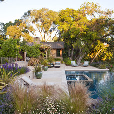 Rustic Pool by Arterra LLP Landscape Architects