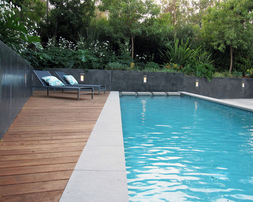 Composite decking home design ideas pictures remodel and for Wooden pool