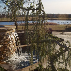 Rustic Pool by Michael Given Environments, LLC