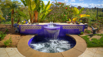 Spa Water-feature - Carlsbad