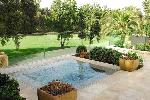 Mediterranean Pool by Westfall Design Studio