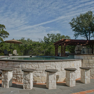 Spanish Style Home - Hill Country Hacienda Pool