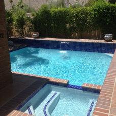 Mediterranean Pool by Sunkist Pools & Renovations