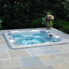 Contemporary Pool by Botanical Decorators