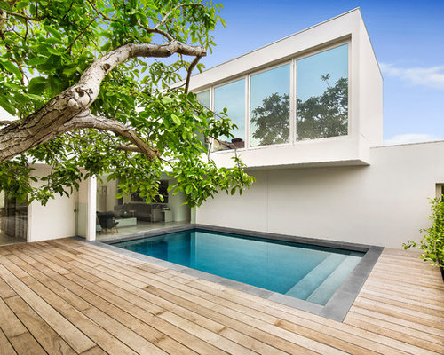 Best 20 modern pool ideas houzz for Pool design examples
