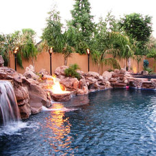 Tropical Pool by Shasta Pools and Spas