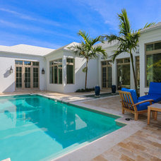 Tropical Pool by Stofft Cooney Architects