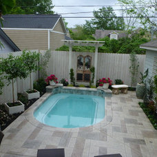 Eclectic Pool by Nature's Realm