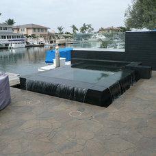 Modern Pool by Premier Pools and Spas