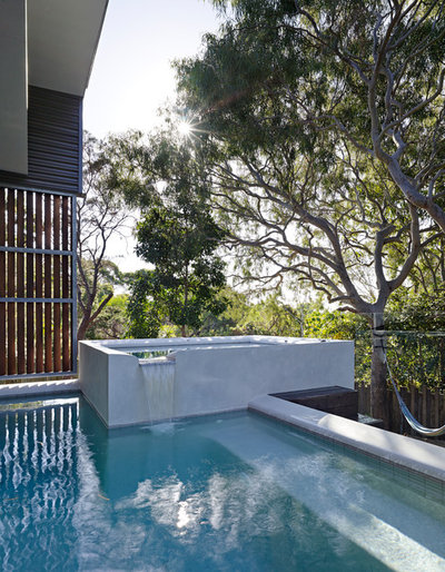 Contemporary Pool by Bark Design Architects