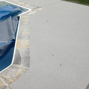 Spray Texture Concrete Overlay