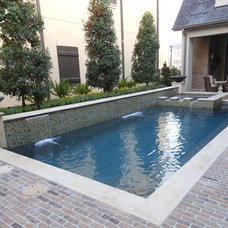 Contemporary Pool by Pierce Pools & Outdoor Visions