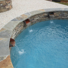 Traditional Pool by Pierce Pools & Outdoor Visions