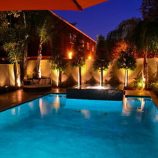 Contemporary Pool by Crystal Pools and Spas