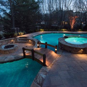 St. Marlo's Backyard Pool Oasis