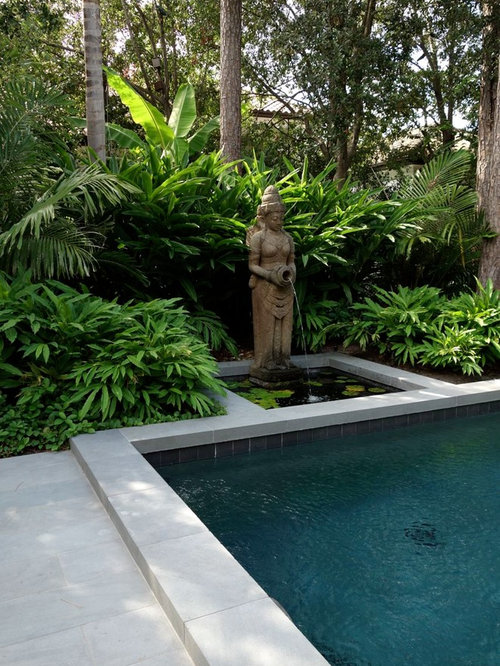 Balinese garden ideas pictures remodel and decor for Green garden pool jakarta