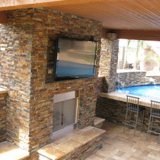 Contemporary Swimming Pools And Spas by Quality Stone Concepts