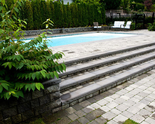 15 best above ground pool ideas remodeling pictures houzz for Pool design vancouver