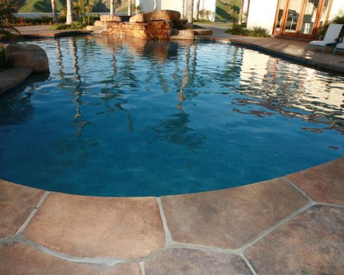 Stamped Concrete Flagstone Houzz
