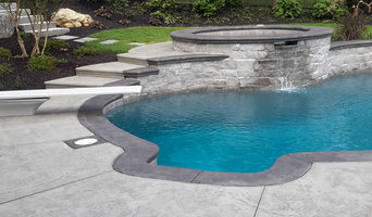 Stamped Pool Deck & Coping