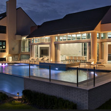 Contemporary Pool by kevin akey - azd architects - michigan
