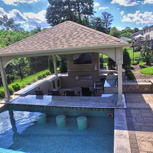 Steeplechase Landscape and Pool