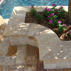 Contemporary Pool by Travertine Group Imports