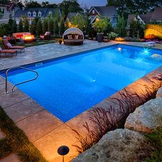 Contemporary Pool by Steve Silverman Imaging