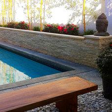 Asian Pool by Moss Yaw Design studio