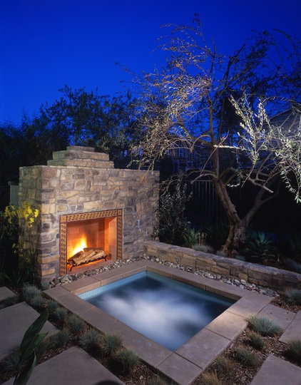 Rustic Pool by Eldorado Stone
