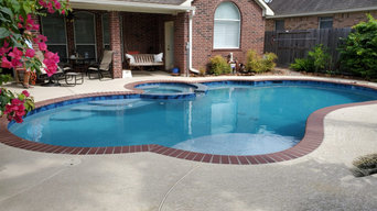 Stone Porch Lane Pool Remodel, Replaster & Retile