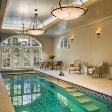 Traditional Pool by Archer & Buchanan Architecture, Ltd.